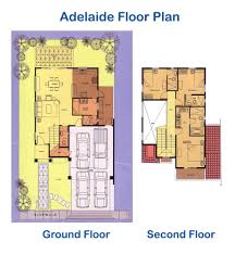 Versailles Floor Plan by Versailles Adelaide Model House For Sale Alabang Philippines