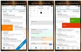 android outlook app outlook app receives a major update for ios and android users