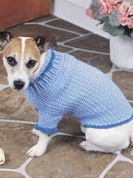 crochet pattern for dog coat crocheted dog sweater pattern crochet and knitting patterns