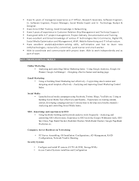 Digital Content Manager Resume Marketing Skills Resume Marketing Manager Resume Format Template