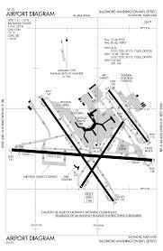 Washington Dulles Airport Map by Baltimore Washington International Thurgood Marshal Airport