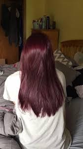 black hair to raspberry hair ion color brilliance radiant raspberry permanent hair dye