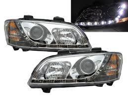 crazythegod commodore ve 2006 2013 hsv headlight led drl r8 chrome