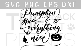 pumpkin face svg pumpkin spice svg dxf eps png by thebla design bundles
