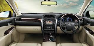 toyota camry dashboard 2017 toyota camry hybrid interior dashboard images carblogindia