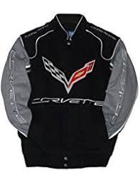 corvette racing jacket amazon com j h design jackets coats clothing clothing