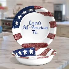 personalized pie plate 66 best patriotic gifts images on american pride