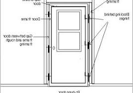 Frame Exterior Door How To Replace Front Door Frame Warm Replace A Patio Door The