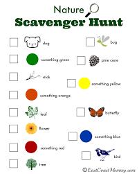 printable halloween scavenger hunt triyae com u003d backyard nature scavenger hunt various design