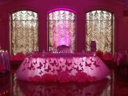 Pink Table Skirt by Pink Butterfly Themed Tutu Fairy Table Skirting Youtube