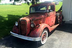 Classic Ford Truck Sheet Metal - forest marooned rod 1936 ford pickup
