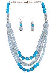 beads necklace handmade images Three line beads necklace jewelry handmade jewelry shopping deals jpg