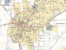 Sac State Map Sacramento California Map