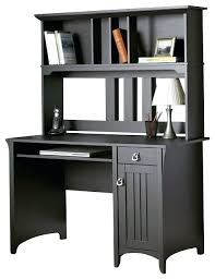desk oberon black computer desk and hutch nice computer desk