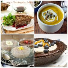 healthy vegan thanksgiving recipes from brunch to dinner to