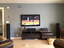 Living Rooms With Dark Brown Leather Furniture Planning A Home Theater Fascinating Living Room Theater For Home