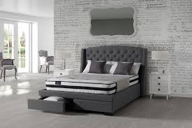 Grey Bed Frame Sovereign Bed Fabric Bed Frame Furniturestop Co Uk