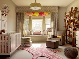 Grey Curtains For Nursery by Mesmerizing Massive Bay Window With Glamorous Loveseat Sofa And