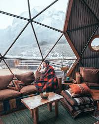 23 cozy cabins on instagram to ignite your winter wanderlust this a frame cabin is a great example of one that s neither too big nor too small but is just right