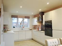 New Design Kitchens Cannock A New York Gloss White Style Kitchen U0026 Alpine White Worktops For A