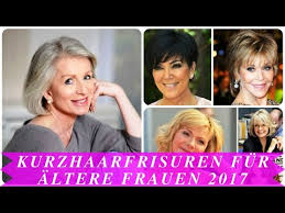Trendfrisuren Kurz Damen 2017 by Frisuren Kurz Für Frauen Ab 50