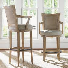 mesmerizing bar stools with back and arms on swivel