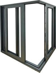 a5 triple pane aluminum modern doors