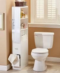 new rolling slim bathroom storage organizer cabinet toilet brush