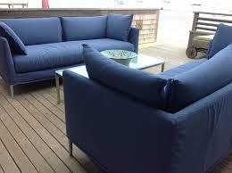 Sunbrella Indoor Sofa by Palm Outdoor Sofas Modern Outdoor Sofas U0026 Sectionals Modern