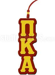 pi kappa alpha greek letter tiki necklace