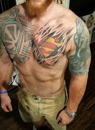 superman skin rip done by erik javor blacktide huntsville