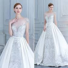 wedding dress with detachable 21 smart convertible wedding dresses happywedd com