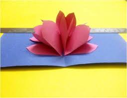 how to make a pop up kirigami lotus u2022 art platter