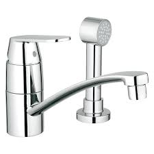 grohe kitchen faucets amazon eurosmart centerset single handle kitchen faucet with side spray