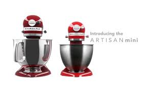 Kitchenaid Mixer Artisan by Kitchenaid Artisan Mini Mixer Youtube