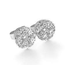 earrings hong kong illusion set diamond earrings haywards of hong kong