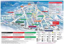 New Mexico Ski Resorts Map by Shiga Kogen Yakebitaiyama Piste Map Trail Map