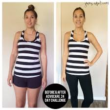 After Challenge Advocare 24 Day Challenge Before And After Advocare And