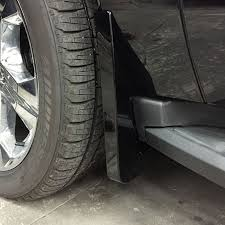 cadillac escalade mud flaps 2016 suburban splash guards front molded black gba painted