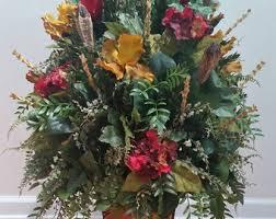 Traditional Flower Arrangement - extra large floral arrangement silk flowers traditional