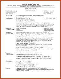 Sample Resume For Research Analyst by Chronological Resume Sample Pdf 2 Operations Manager Resume