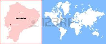 bolivia on world map ecuador in map of world royalty free cliparts vectors and stock