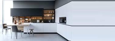cuisine blanc laqué plan travail bois cuisine noir et blanc et boishtml idee deco pour cuisine blanche 1