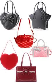 bags of bows bags kawaii bags with bows kawaii cachette au féminin