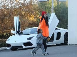 tyga lamborghini aventador exclusive photos and tyga take king cairo car shopping