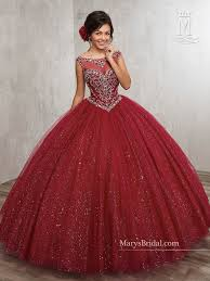 burgundy quince dresses beaded illusion quinceanera dress by s bridal beloving 4805