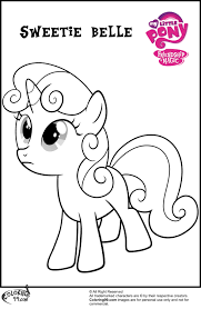 pony coloring pictures my little pony coloring pages sweetie belle