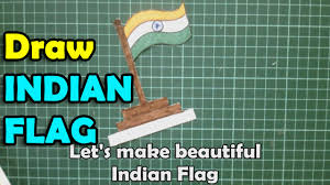 how to make national flag of india indian flag youtube