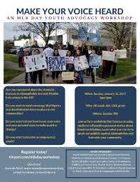 Maps Redmond Make Your Voice Heard Mlk Youth Advocacy Workshop Faith Action