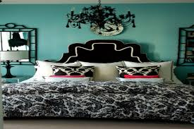 Black White And Teal Bedroom Turquoise Bedrooms Teen Bedroom Turquoise Black Teen Girls